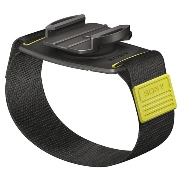 Аксессуар для экшн камер Sony Ремешок на запястье с держателем (AKA-WM1) черного цвета