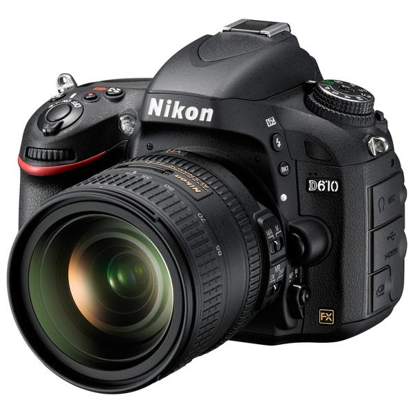 Фотоаппарат зеркальный премиум Nikon D610 + 24-85mm Kit Black
