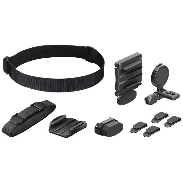Аксессуар для экшн камер Sony Регулируемое головное крепление (BLT-UHM1//C SYH) черного цвета