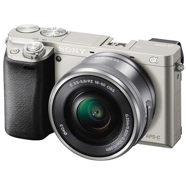 Фотоаппарат системный Sony Alpha A6000 Kit 16-50 Silver