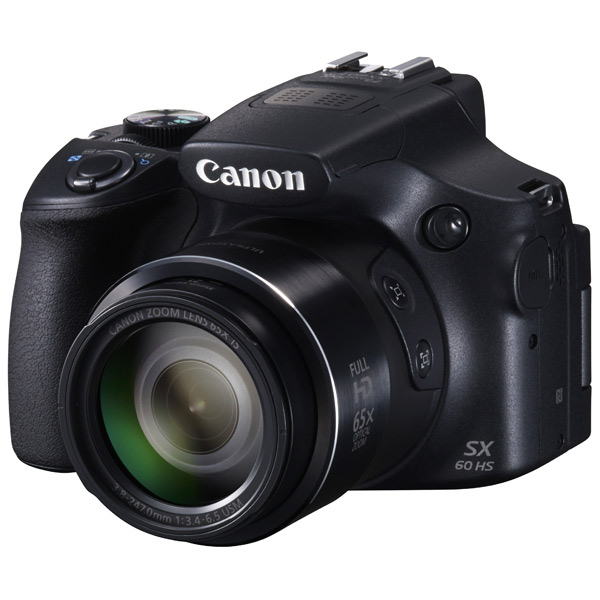 Фотоаппарат компактный Canon Power Shot SX60HS Black