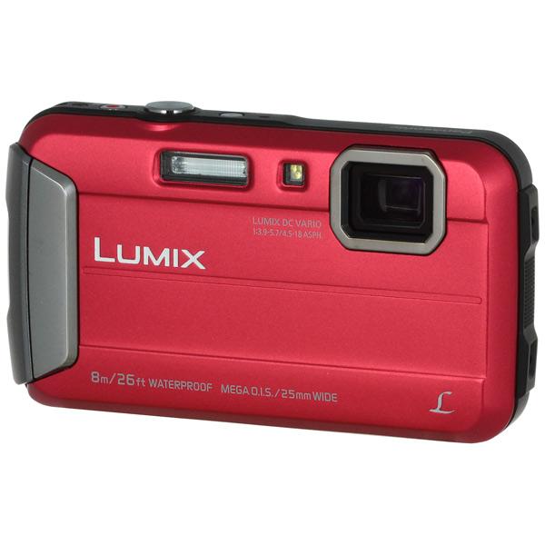 Фотоаппарат компактный Panasonic Lumix DMC-FT30 Red