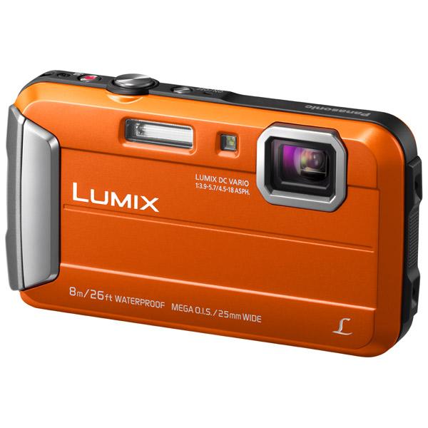 Фотоаппарат компактный Panasonic Lumix DMC-FT30 Orange