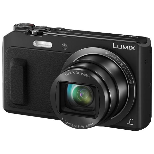 Фотоаппарат компактный Panasonic Lumix DMC-TZ57 Black