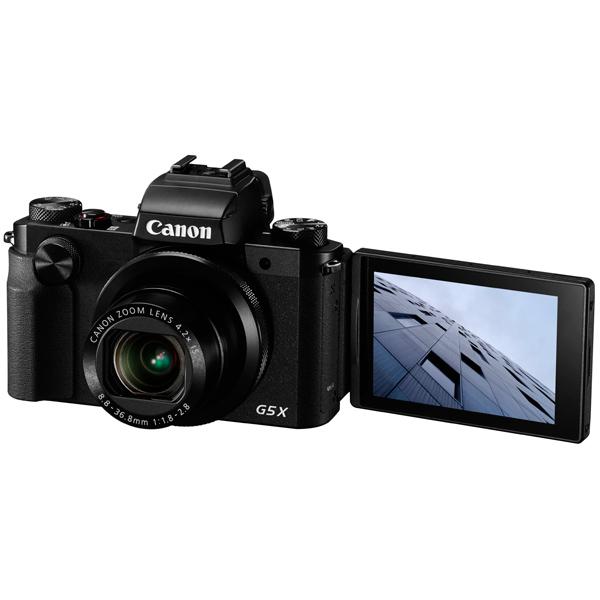 Фотоаппарат компактный премиум Canon PowerShot G5 X Black