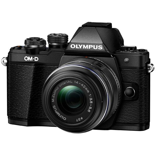 Фотоаппарат системный Olympus OM-D E-M10 Mark II 14-42 II R Black