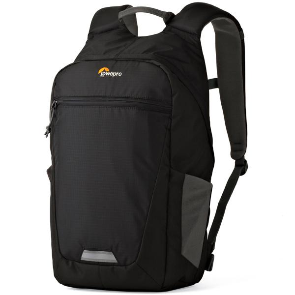 Рюкзак для фотоаппарата Lowepro Photo Hatchback BP 150 AW II Midnight Black/Grey черного цвета
