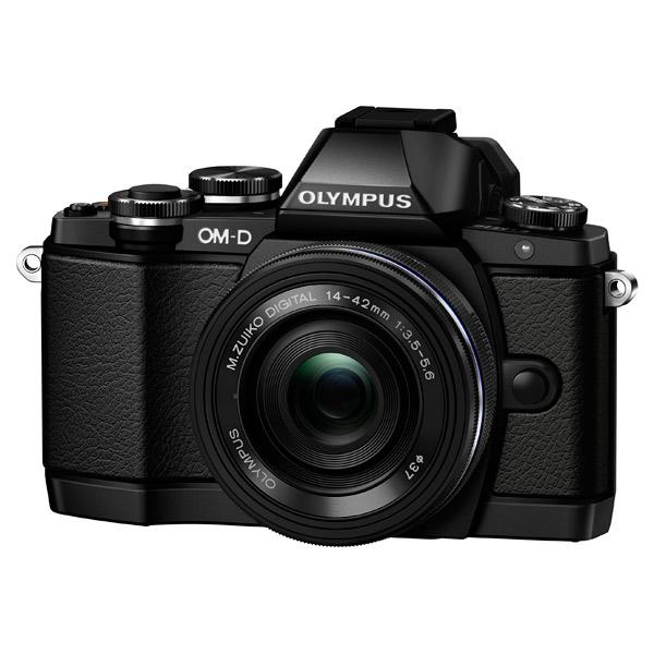 Фотоаппарат системный Olympus E-M10 Pancake Zoom Kit Black