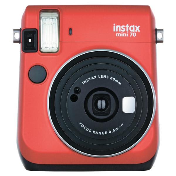 Фотоаппарат моментальной печати Fujifilm Instax Mini 70 Red
