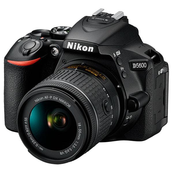 Фотоаппарат зеркальный Nikon D5600 + 18-55 P VR