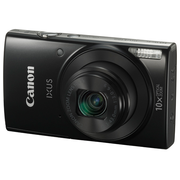 Фотоаппарат компактный Canon IXUS 190 Black