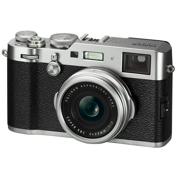 Фотоаппарат компактный премиум Fujifilm X100F Silver