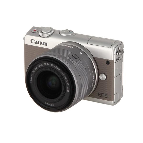 Фотоаппарат системный Canon EOS M100 EF-M15-45 IS STM Kit Grey