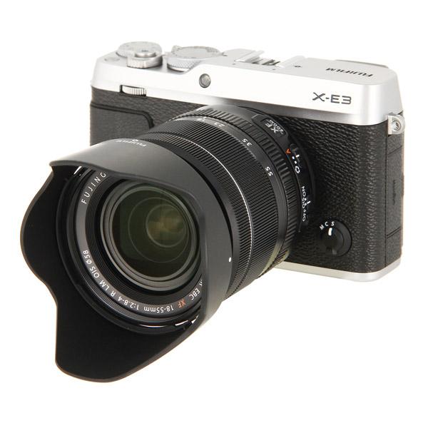 Фотоаппарат системный премиум Fujifilm X-Е3 Kit 18-55mm Silver
