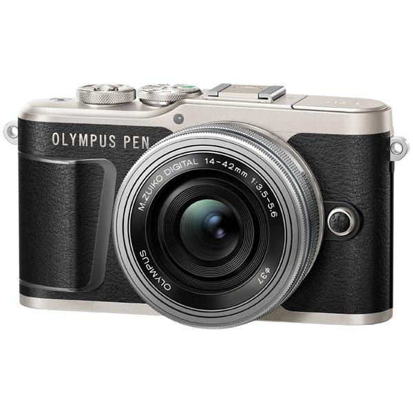 Фотоаппарат системный Olympus E-PL9 black + 14-42mm EZ silver