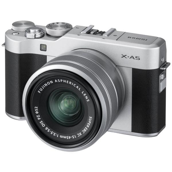 Фотоаппарат системный Fujifilm X-A5 Kit 15-45 F3.5-5.6 Silver