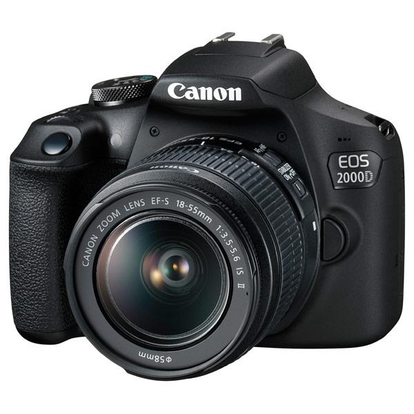 Фотоаппарат зеркальный Canon EOS 2000D EF-S 18-55 IS II Kit