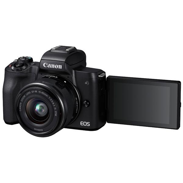 Фотоаппарат системный Canon EOS M50 EF-M15-45 IS STM Kit Black