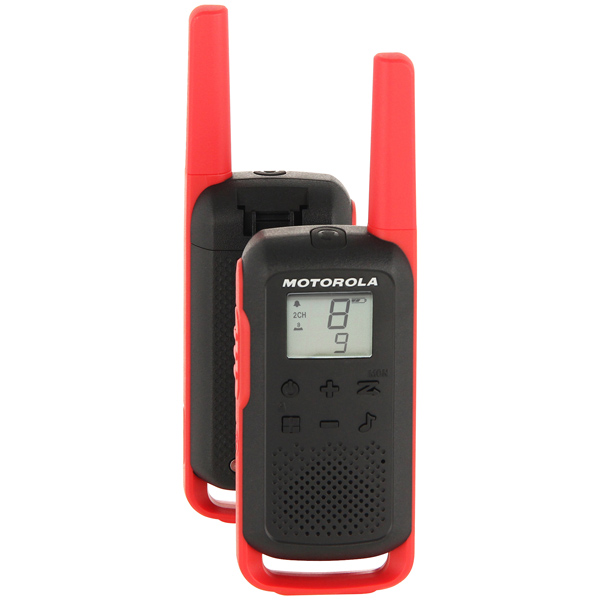 Рация Motorola TalkAbout T62 Red/Black (2 штуки)