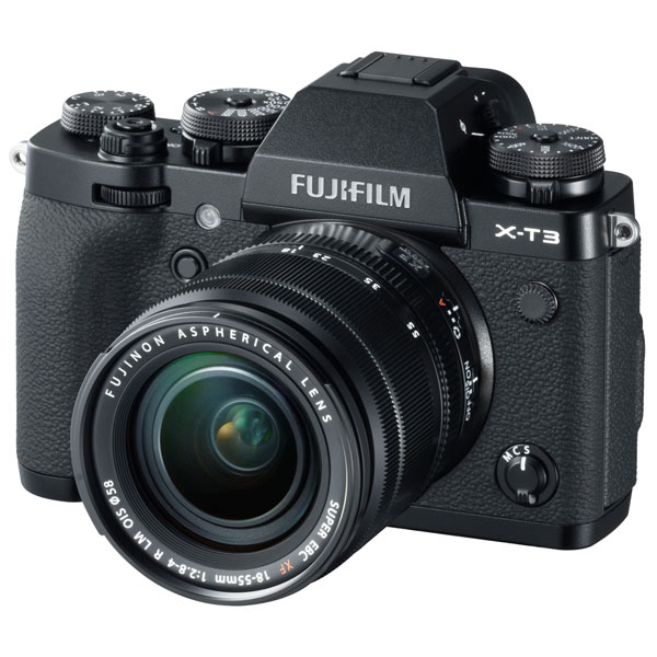 Фотоаппарат системный премиум Fujifilm X-T3 18-55 Black
