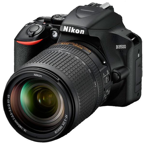 Фотоаппарат зеркальный Nikon D3500 + AF-S 18-140 VR