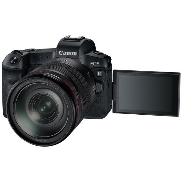 Фотоаппарат системный премиум Canon EOS R RF 24-105 F4 L IS USM+MountAdapter EF EOS R