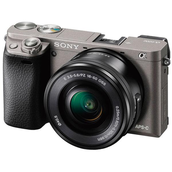Фотоаппарат системный Sony Alpha 6000 16-50 Kit Graphite (ILCE-6000L/H)