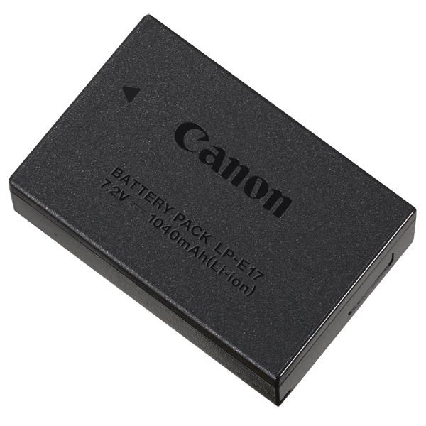 Аккумулятор для цифрового фотоаппарата Canon Battery Pack LP E-17 (9967B002AA)
