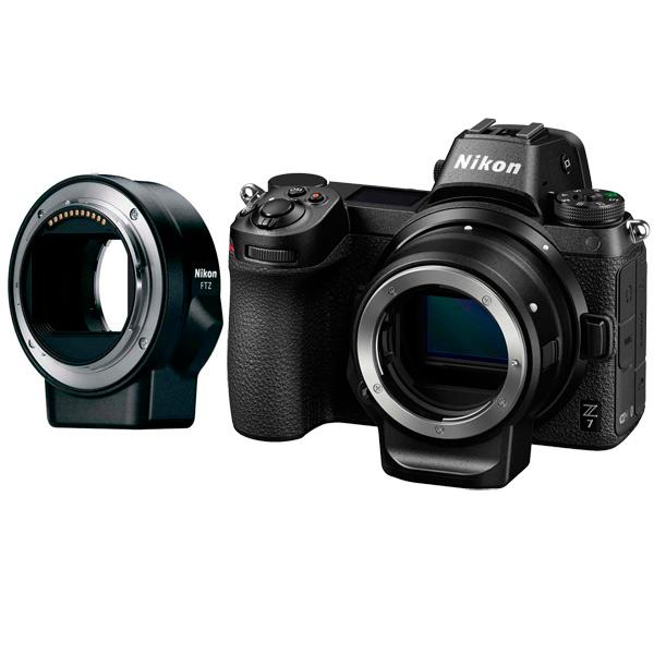 Фотоаппарат системный премиум Nikon Z7 + FTZ Adapter Kit