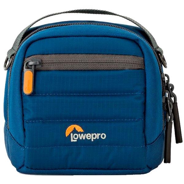 Сумка для компактных фотокамер Lowepro TahoeCS80синяя синего цвета