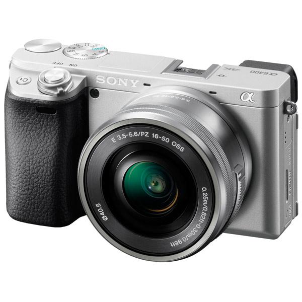 Фотоаппарат системный Sony A6400 + SEL-P1650 Silver (ILCE-6400L/S)