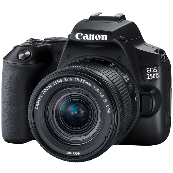 Фотоаппарат зеркальный Canon EOS 250D EF-S 18-55 IS STM Kit Black