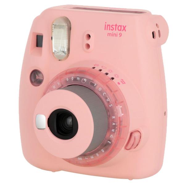 Фотоаппарат моментальной печати Fujifilm INSTAX MINI 9 CLEAR PINK