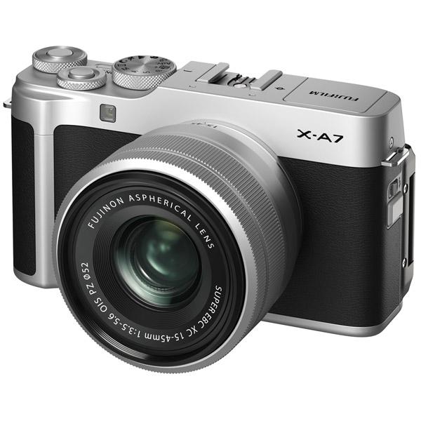 Фотоаппарат системный Fujifilm X-A7 15-45 Silver