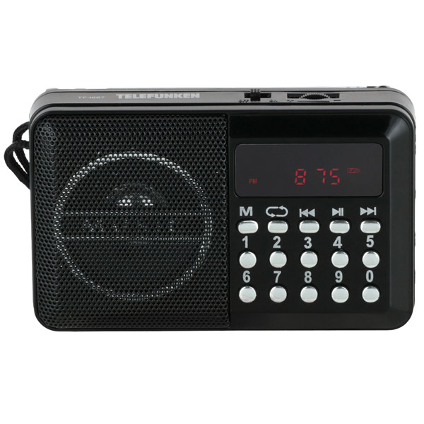 Радиоприемник Telefunken TF-1667 фото