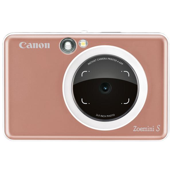 Фотоаппарат моментальной печати Canon Zoemini S Rose Gold (ZV-123-RG)