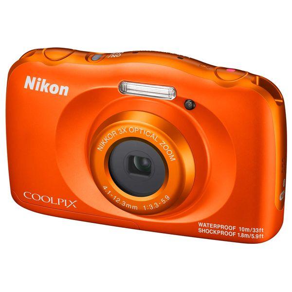 Фотоаппарат компактный Nikon COOLPIX W150 ORANGE BACKPACK KIT