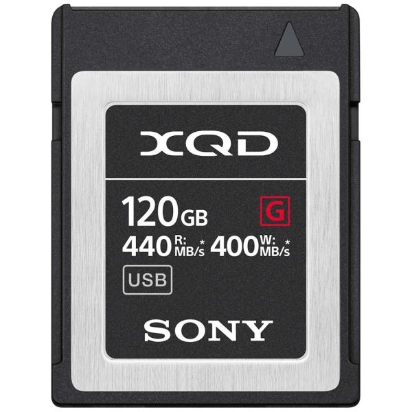 Карта памяти XQD Sony 120GB 440R/400W (QD-G120F/J) черного цвета