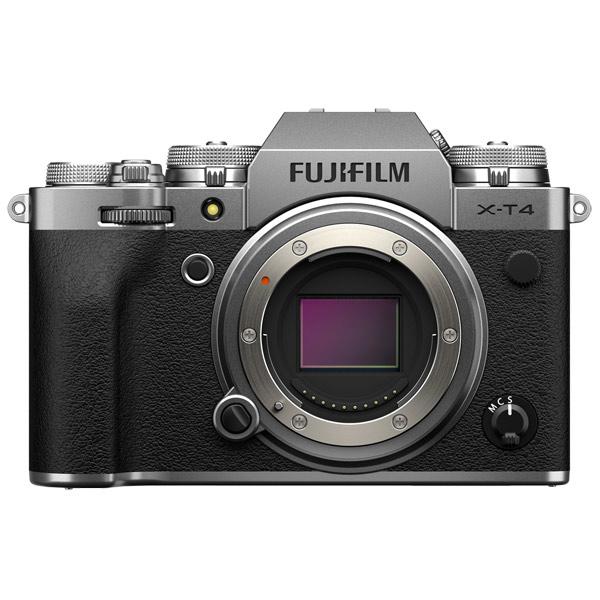Фотоаппарат системный премиум Fujifilm X-T4 Body Silver