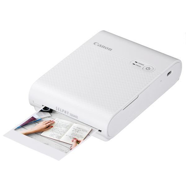 Компактный фотопринтер Canon Selphy Square QX10 White