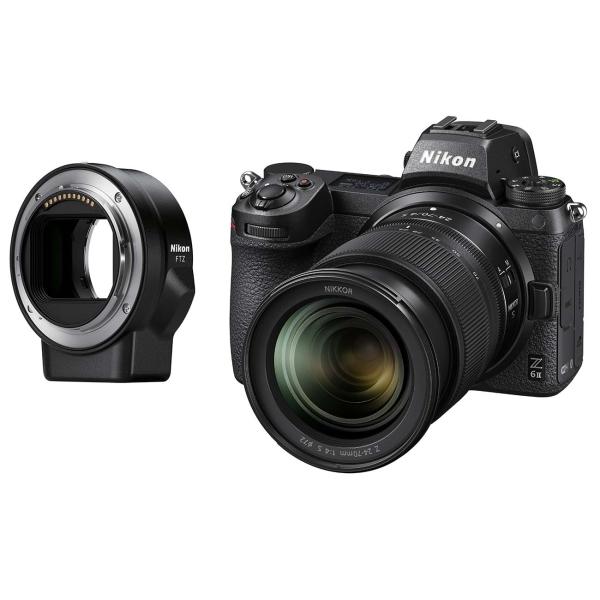 Фотоаппарат системный Nikon Z 6II Black Kit 24-70mm f/4 S + FTZ Adapter