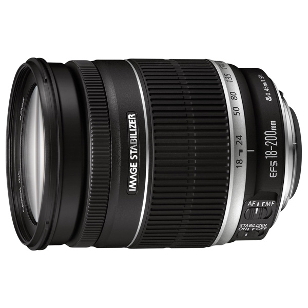 Объектив Canon EFS 18-200mm f/3.5-5.6 IS