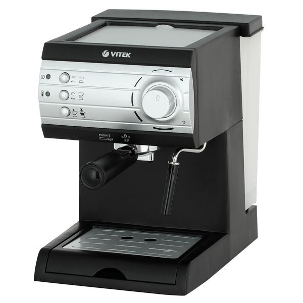 Кофеварка рожкового типа Vitek VT-1519 BK