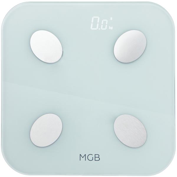 Умные весы MGB Body fat scale Glass Edition MGB F19 BW White