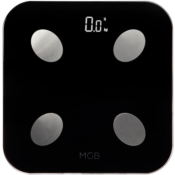 Умные весы MGB Body fat scale Glass Edition MGB F19 BB Black