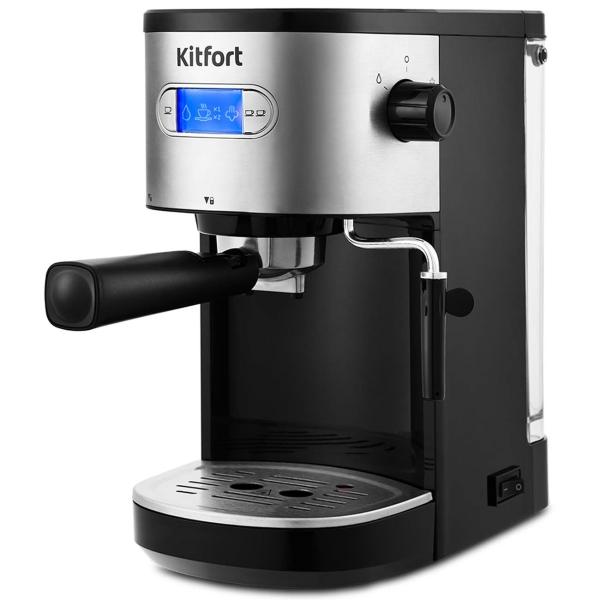 Купить Кофеварка рожкового типа Kitfort КТ-740 в каталоге интернет магазина М.Видео по выгодной цене с доставкой, отзывы, фотографии - Тверь