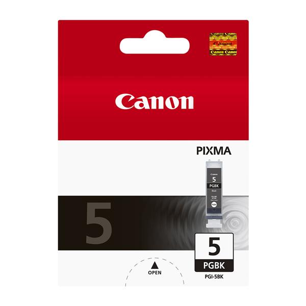 Картридж для струйного принтера Canon PGI-5 BK черного цвета