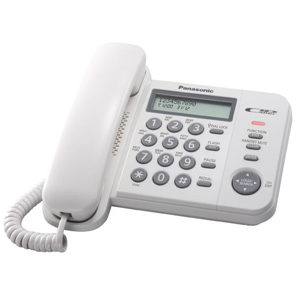 Телефон проводной Panasonic KX-TS2356 RU-W