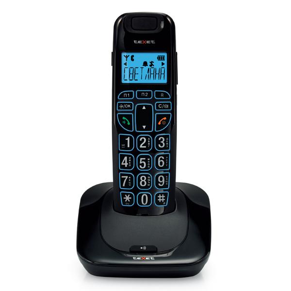 Купить Телефон DECT teXet TX-D7505A в каталоге интернет магазина М.Видео по выгодной цене с доставкой, отзывы, фотографии - Иркутск