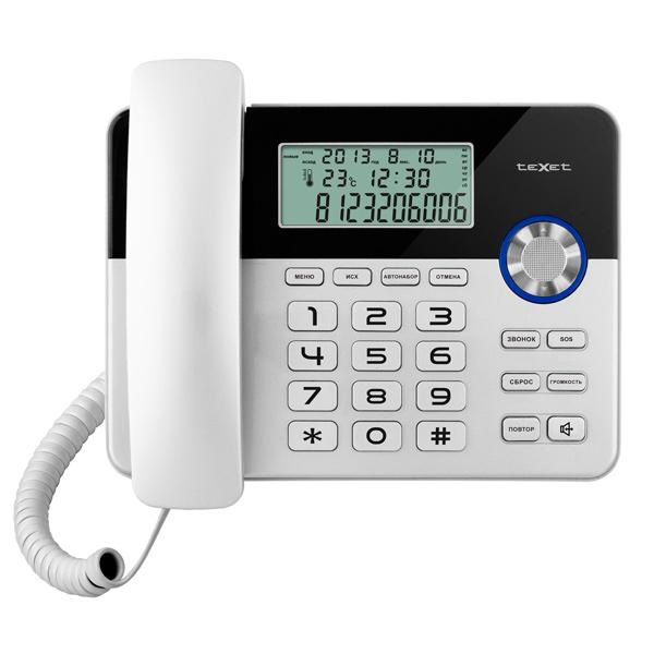 Телефон проводной teXet TX-259